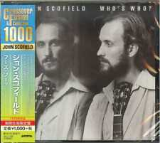 JOHN SCOFIELD-WHO'S WHO?-JAPAN CD B63