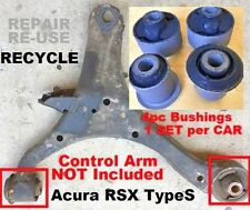 4pc Bushings fits Front Lower Control Arms 2002 2003 04 05 2006 Acura RSX Type-S