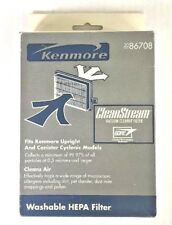 Genuine Kenmore 20-86708 CleanStream Washable HEPA Filter--1 Filter