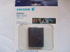 Ericsson battery ORIGINALE BATTERIA  NM 7075 NiMH 750 mAh  T10, T16,  T18   700