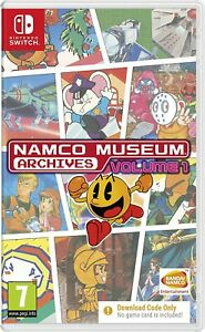 Namco Museum Archives Volume 1 (Code in Box) SWITCH NUOVO