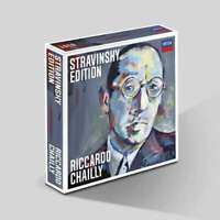 Riccardo Chailly: Stravinsky Edition (The Complete Recordings) (10CDs) Presale