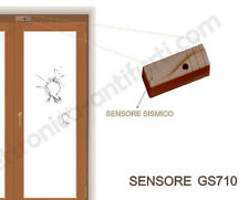 GS710 - Sensore di urti e vibrazione, rottura vetri finestre per centrali Bentel