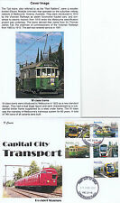 """Stamps 2012 Capital City Transport set 5 booklet limited edition """"K"""" Covers FDC"""
