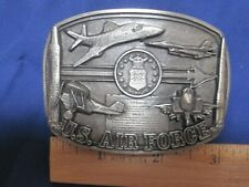 "Bergamot ""U.S. Air Force"" belt buckle. Vintage. New (1991). R-132 Made in Usa."