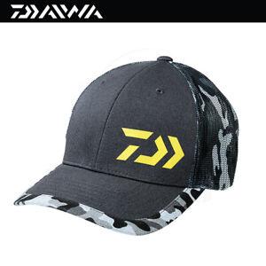Daiwa D-VEC Trucker Grey Camo Cap Hat (3434)