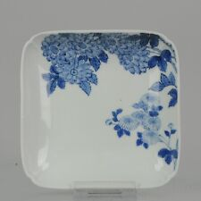 Antique 1800-1860 Lovely Japanese Porcelain footed Dish Nabeshima Porcel...