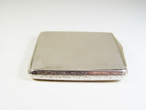 LOVELY HAND CHISELED & HONEYCOMB DESIGN SOLID SILVER BOX