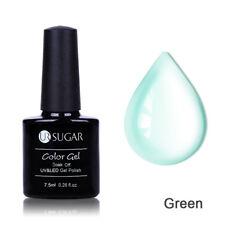 Glitter UV Gel Nail Polish Clear Jelly Nude Pinky Nail Art Varnish UR SUGAR