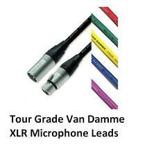 10 Metre PROFESSIONAL VAN DAMME NEUTRIK XLR Microphone Lead - CABLE GREEN
