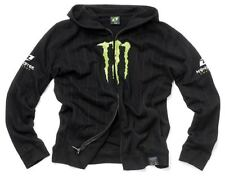 Monster Energy Stripe Hooded Sweater Black # XL