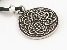 Irish Shamrock , Handmade pewter pendant, Holy Trinty, religion