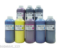 8x500ml Pigment refill ink for Epson R2100 7800 7880 9800 9880 Printer 500mL K3