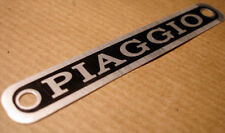 vespa PIAGGIO seat badge