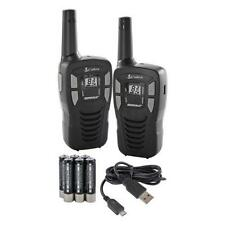 Cobra Two Way Radios MT245 2 Walkie Talkie PMR446 5km Rechargeable USB TWIN PACK