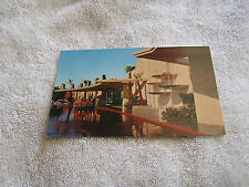 Vintage Las Vegas Postcard Woody Wagon Royal Nevada Hotel