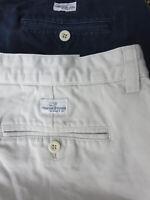 Vineyard Vines mens solid navy an khaki Club casual shorts lot 36 VGUC (2)