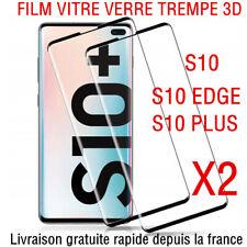 FILM PROTECTION ECRAN VITRE VERRE TREMPE SAMSUNG S10 PLUS S10e protection total