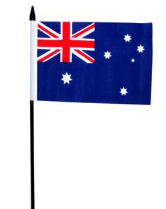 "Australia Small Hand Waving Flag 6"" x 4"""