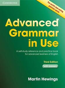 Advanced Grammar in Use with Answers Martin Hewings THIRD EDITION 9781107697386