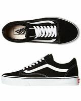 Vans Shoes Old Skool Black White USA SIZE Old School NEW Skateboard Sneakers