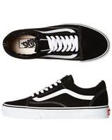 Vans Shoes Old Skool Black White USA SIZE Old School NEW Skateboard Sneakers