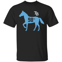 Men's Tampa Bay Rays Stable 98 Baseball 2020 Navy T-Shirt S-4XL