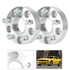 Pair 1.5 in. Thick 5x4.75 in. Car Hub Centric Wheel Spacers Set for Chevy S10
