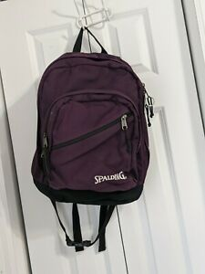 Spalding Backpack Travel Purple Medium