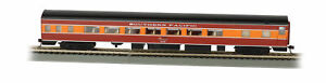 Bachmann 14207 HO Southern Pacific 85' Smooth-Side Coach with Lighted Interior