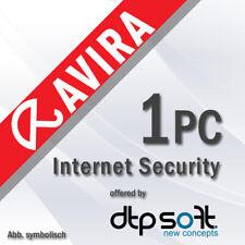 Avira Internet Security Suite 2020 1 PC VOLLVERSION 1 GERÄT 3 JAHRE 2020 DE EU