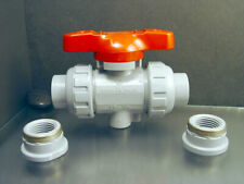 "Asahi Av 1613005 Duo-Bloc 21 1/2"" Ball Valve 15-1/2 Comes With Threaded Ends"