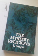 the Mystery Religions Samuel Angus Paperback Book dover pb gnostic mithra christ