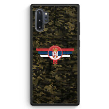 Srbija Serbien Camouflage Samsung Galaxy Note 10+ Plus Silikon Hülle Motiv De...