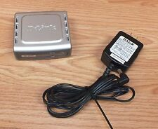 D-Link  000000Be (Dp-301U) Wired 10/100 Fast Ethernet Usb Print Server w/ Power Supply