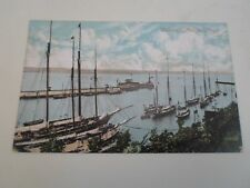 Vintage Postcard WEYMOUTH HARBOUR MOUTH Franked+Stamped 1909  §A637