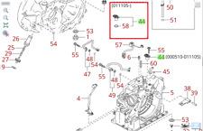 2000-2005 KIA RIO AUTOMATIC TRANS SPEED SENSOR 4 SPEED 2WD ONLY 42600 2Z010