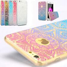 Handy Hülle Mandala Motive Schutzhülle Cover Case Schale für iPhone 6 6S 7 Plus