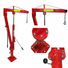 1 Ton Swivel Lift Lifting Davit Crane Lift Hoist Pickup Truck 1000-2000 Lbs Cap.