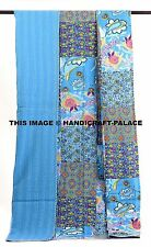 Indian Patchwork Kantha Bedspread Quilts Blanket Throw Bedding Handmade Decor