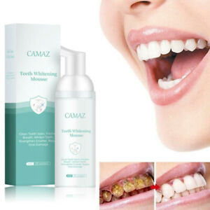 Toothpaste Whitening Mousse Foam Remove Tooth Stains Teeth Oral Care Cleaning