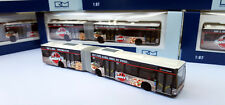 "Mercedes Benz Citaro GN 06 Hamburg HHA Vollwerbung ""Smiley's Pizza "" Bus !Rietze"