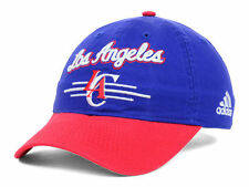 Los Angeles Clippers Adidas 2 Tone NBA Basketball Slouch Adjustable Cap Hat bb1d965f6f88