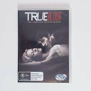 True Blood Season 2 TV Series DVD Region 4 AUS - 5 x Disc Set