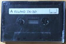 VINTAGE USED CASSETTE TAPE ROLAND JX-3P JUNO 106 DATA RARE