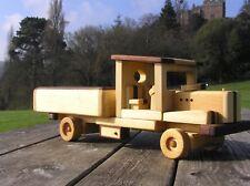 Wooden toy farm truck. Model  Farming. Weddings Displays, Memorials.