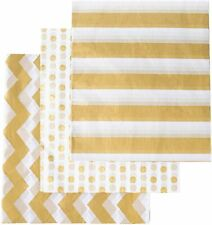 90 Sheets Metallic Christmas Gold Tissue Paper 28 Inch by 20 Inch, Tissue.