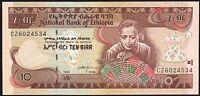 2006 ETHIOPIA 10 BIRR BANKNOTE * UNC * P-48d *