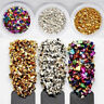 Broken Glass Stones Gems Rhinestones DIY Nail Crystals Nail Art Decorations Tips