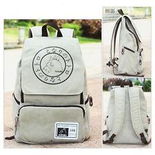 Anime My Neighbor Totoro Canvas Backpack Sport Outdoor Boy Girls School Bag Gift